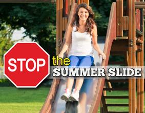 Summer learning back slide