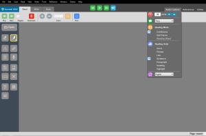 audio option menu